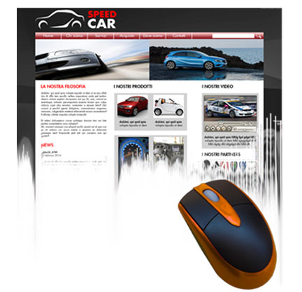 Web Design - Siti Web - Banner - Icone - Newsletter - DEM